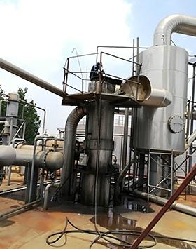 化工厂蒸发器清洗